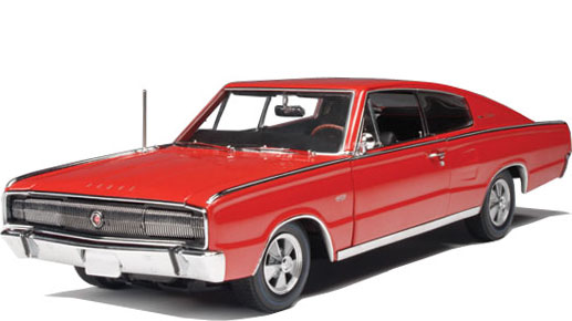 Dodge_Charger_1966_ERTL_Rojo